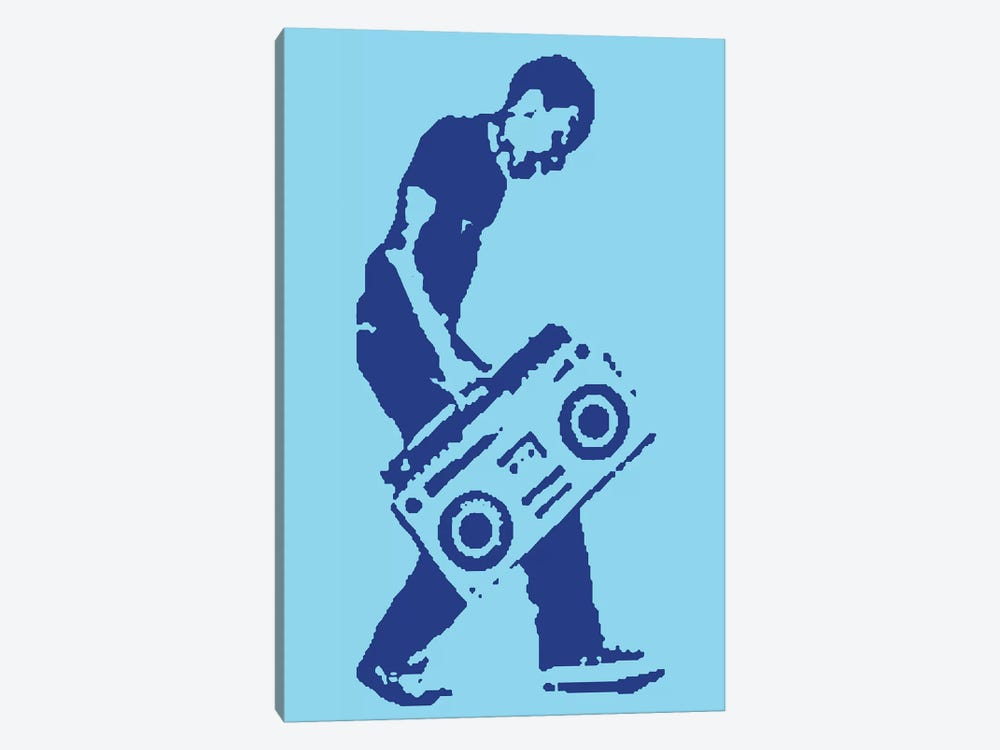 Master Blaster by Steez 1-piece Canvas Wall Art