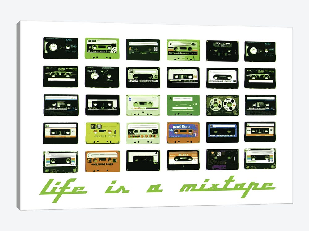 Mixtape by Steez 1-piece Art Print