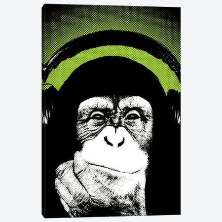 Monkey BL III Canvas Print #STZ46} by Steez Canvas Art