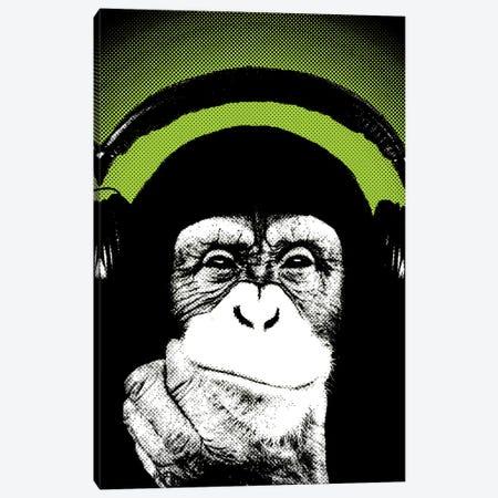 Monkey BL III Canvas Print #STZ46} by Steez Canvas Art