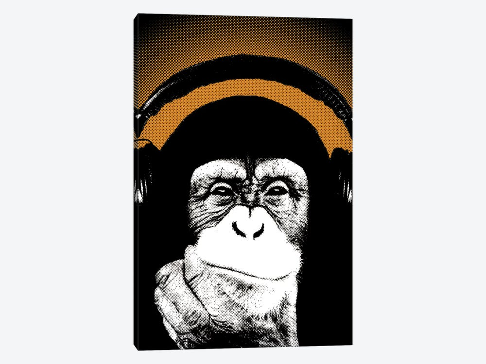 Monkey BL V by Steez 1-piece Canvas Art Print