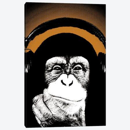 Monkey BL V Canvas Print #STZ48} by Steez Canvas Art Print