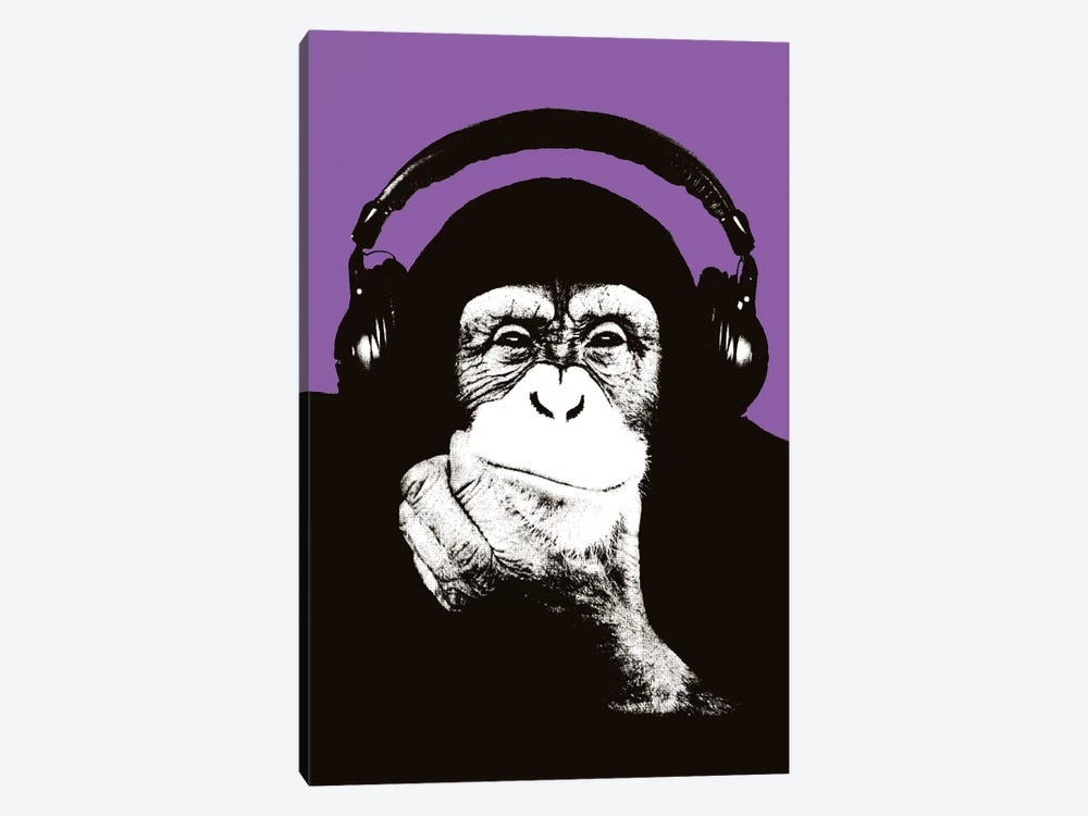 New Monkey Head IX by Steez 1-piece Canvas Print