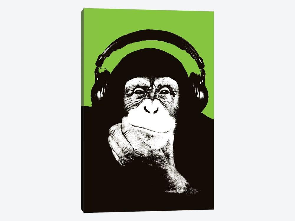 New Monkey Head VI by Steez 1-piece Art Print