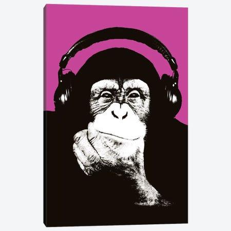 New Monkey Head VII Canvas Print #STZ60} by Steez Canvas Print