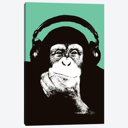 New Monkey Head VIII Canvas Print #STZ61} by Steez Canvas Art Print