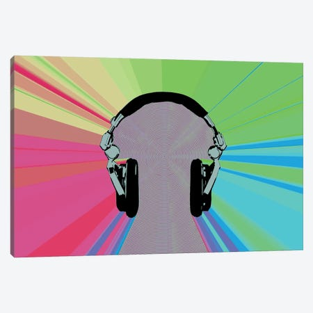 Phoney Canvas Print #STZ62} by Steez Canvas Art Print