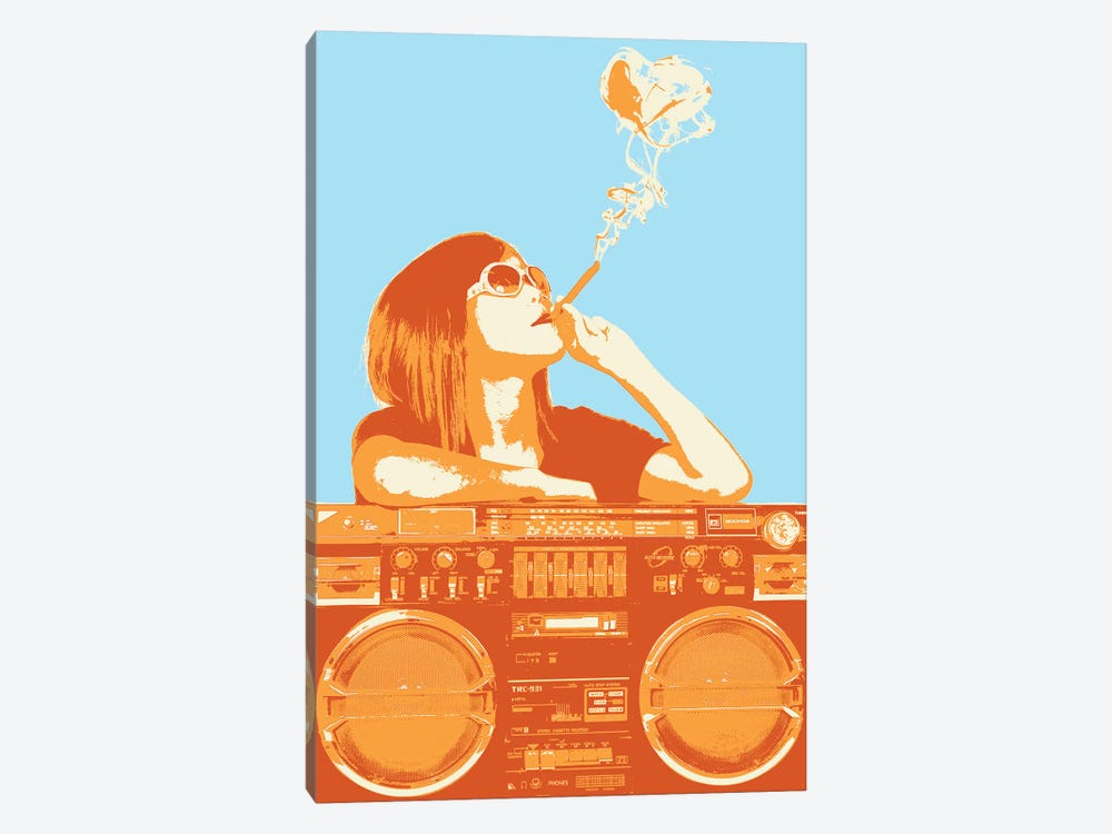 Puff Puff Pass 1-piece Canvas Art