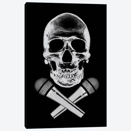 Skullz Canvas Print #STZ67} by Steez Canvas Wall Art