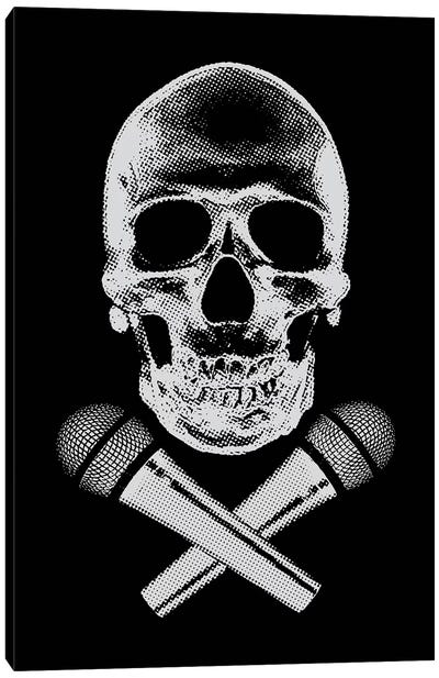 Skullz Canvas Art Print