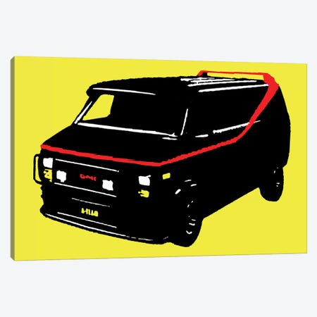 A-Teamer Canvas Print #STZ6} by Steez Canvas Artwork