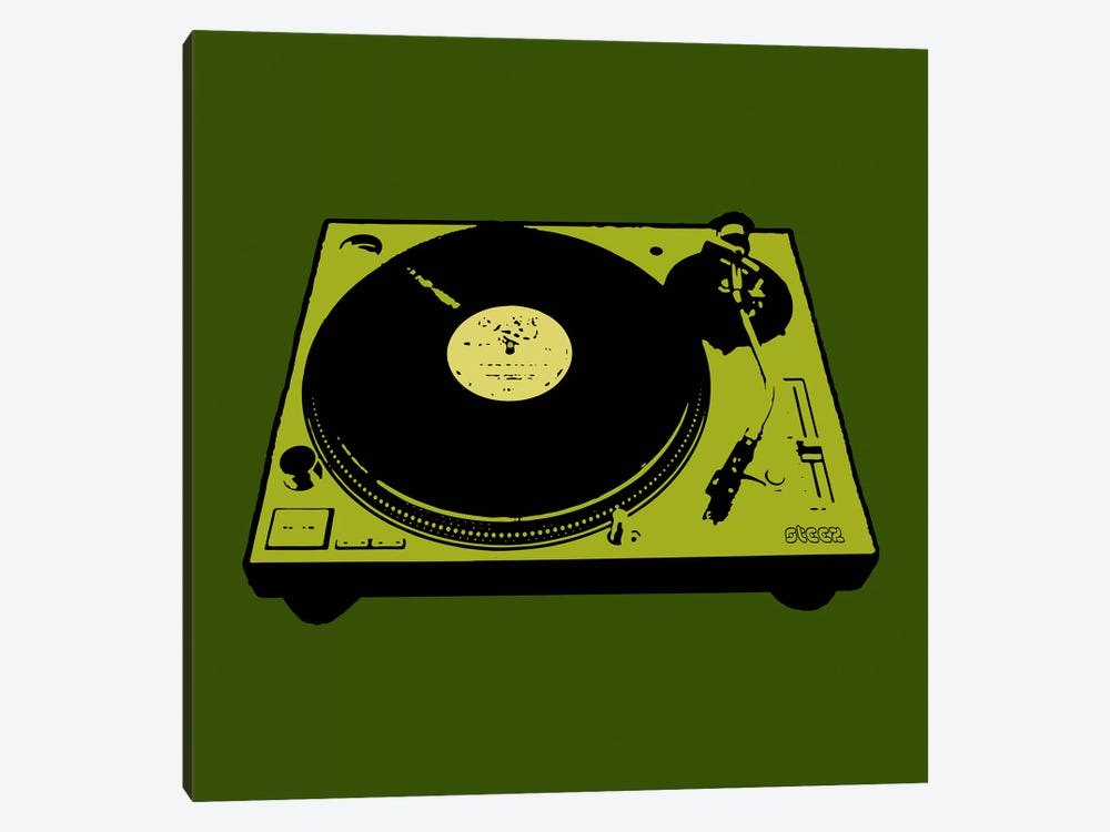 Turntable Army Poster by Steez 1-piece Canvas Art Print