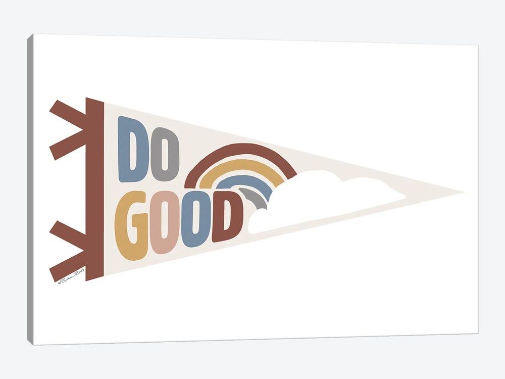 Do Good Pennant by Susan Ball 1-piece Canvas Artwork