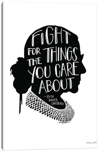 Fight RBG Canvas Art Print
