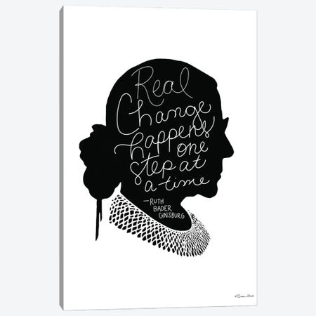 Real Change RBG Canvas Print #SUB112} by Susan Ball Art Print