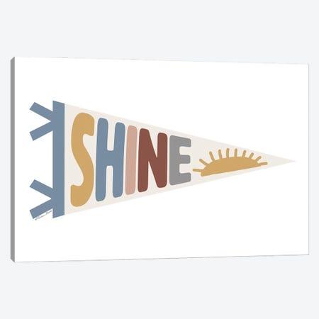 Shine Pennant Canvas Print #SUB113} by Susan Ball Canvas Print