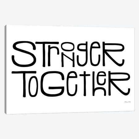 Stronger Together Canvas Print #SUB115} by Susan Ball Canvas Wall Art