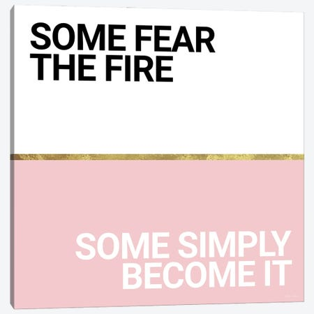 Become the Fire Canvas Print #SUB117} by Susan Ball Canvas Art