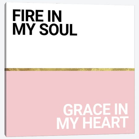 Fire and Grace Canvas Print #SUB118} by Susan Ball Art Print