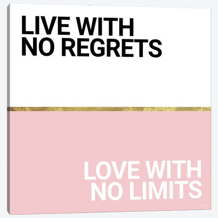 Regrets and Limits Canvas Print #SUB121} by Susan Ball Canvas Art