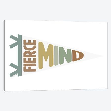 Fierce Mind Pennant Canvas Print #SUB127} by Susan Ball Canvas Art Print