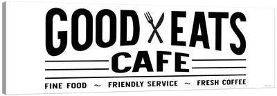 Good Eats Café Canvas Art Print