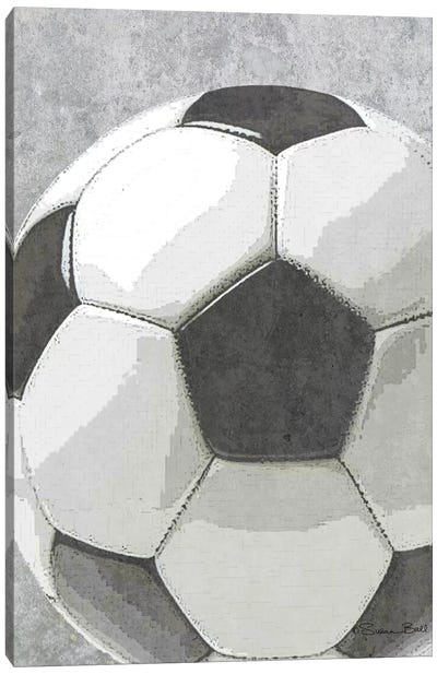Sports Ball - Soccer Canvas Art Print