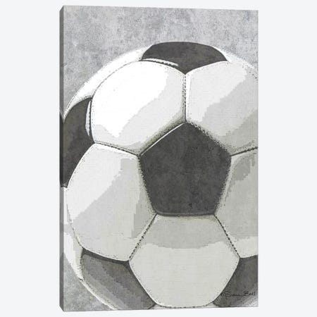 Sports Ball - Soccer Canvas Print #SUB22} by Susan Ball Canvas Wall Art