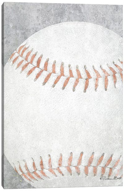 Sports Ball - Baseball Canvas Art Print