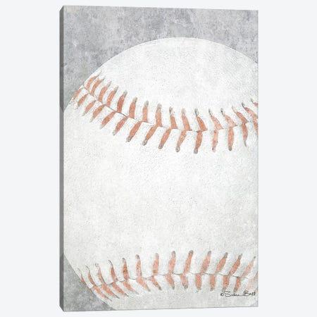 Sports Ball - Baseball Canvas Print #SUB23} by Susan Ball Canvas Art