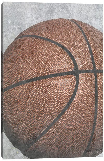 Sports Ball - Basketball Canvas Art Print