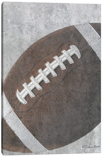 Sports Ball - Football Canvas Art Print