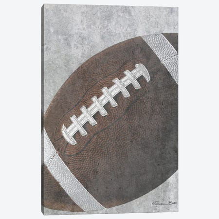 Sports Ball - Football Canvas Print #SUB25} by Susan Ball Canvas Print