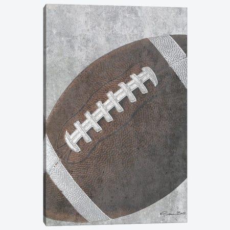 Sports Ball - Football Canvas Print #SUB25} by Susan Ball Canvas Print