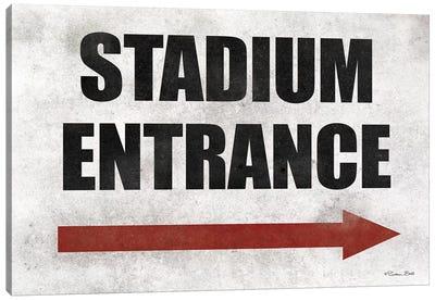Stadium Entrance Canvas Art Print
