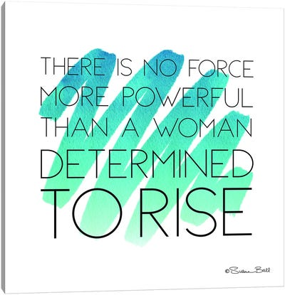Determined to Rise Canvas Art Print