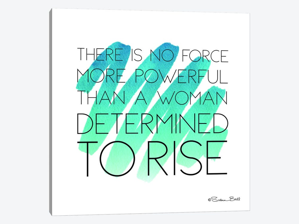 Determined to Rise by Susan Ball 1-piece Canvas Art
