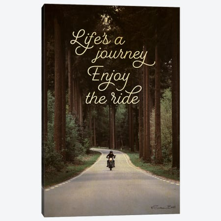 Life's a Journey Canvas Print #SUB35} by Susan Ball Canvas Art