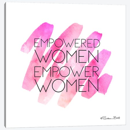 Empowered Women Canvas Print #SUB3} by Susan Ball Canvas Print