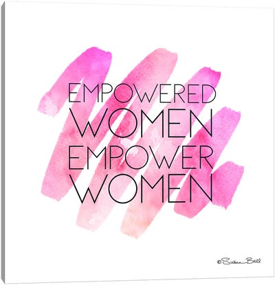 Empowered Women Canvas Art Print