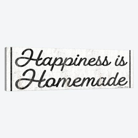 Happiness is Homemade Canvas Print #SUB44} by Susan Ball Art Print