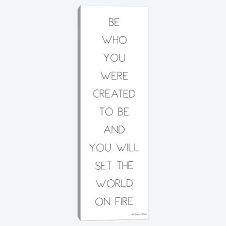 Be Who You Were Created to Be Canvas Print #SUB5} by Susan Ball Canvas Art