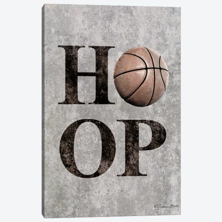 Basketball HOOP Canvas Print #SUB62} by Susan Ball Canvas Artwork