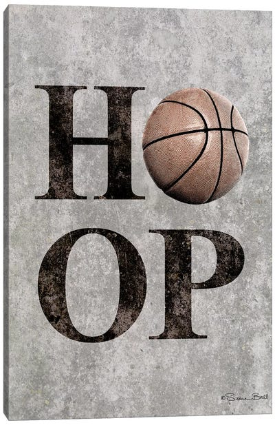 Basketball HOOP Canvas Art Print