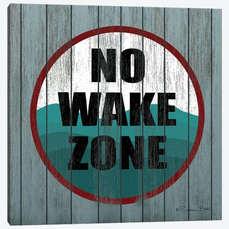 No Wake Zone  Canvas Print #SUB68} by Susan Ball Canvas Wall Art