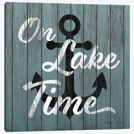On Lake Time  Canvas Print #SUB69} by Susan Ball Canvas Wall Art
