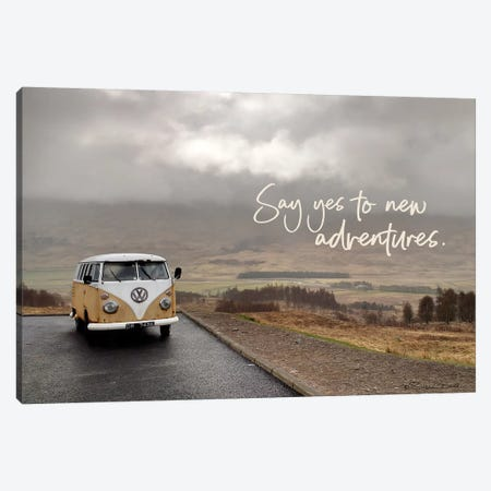Say Yes to New Adventure Canvas Print #SUB70} by Susan Ball Canvas Print