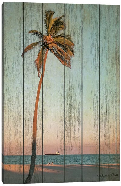 Vintage Palm  Canvas Art Print