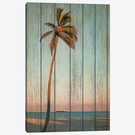 Vintage Palm  Canvas Print #SUB75} by Susan Ball Canvas Art
