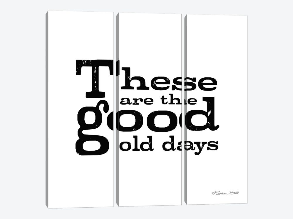 These are the Good Old Days by Susan Ball 3-piece Canvas Art Print